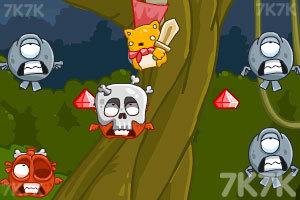 《剑圣小猫战恶魔》游戏画面1