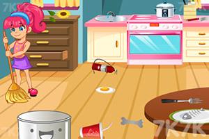 《帮妈妈打扫房间》游戏画面4