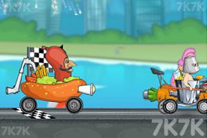 《穿越狂人车赛》游戏画面4