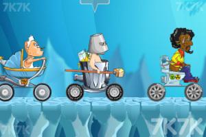 《穿越狂人车赛》游戏画面1