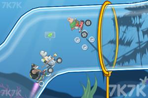 《穿越狂人车赛》游戏画面5