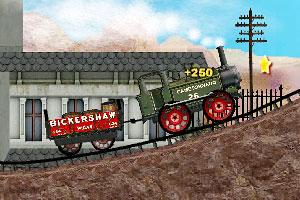 《小火车载货》游戏画面1