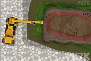 《起重大卡车运输》游戏画面3