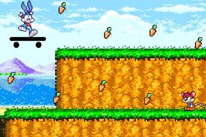 《宾尼兔滑板跑酷》游戏画面1
