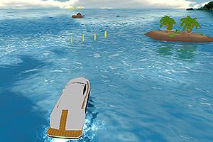 《3D急速快艇》游戏画面1
