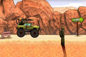 《悍马战车驾驶》游戏画面1