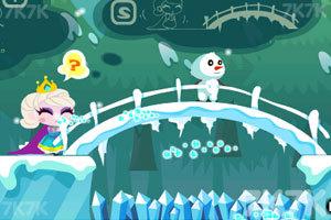 《冰雪女王救公主》游戏画面1