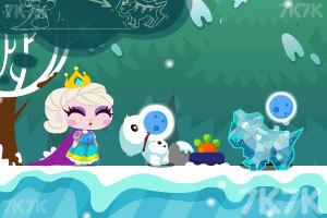 《冰雪女王救公主》游戏画面2