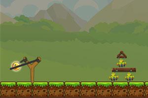 《愤怒的小黄球》游戏画面1