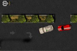 《城市吉普车停车》游戏画面1