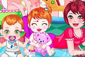 《照顾双胞胎宝贝》游戏画面1