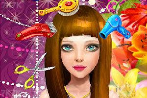 《新娘发型屋》游戏画面1