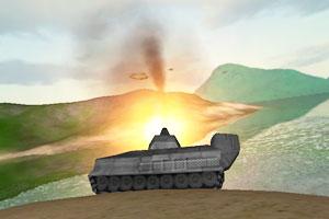 《环岛坦克战》游戏画面1