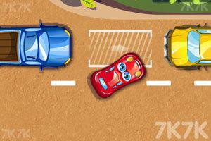 《停靠卡通车》游戏画面5