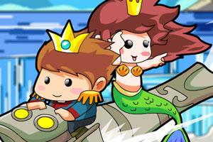 《私奔的人鱼公主2选关版》游戏画面1