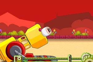 《炸弹人疯狂大炮》游戏画面1