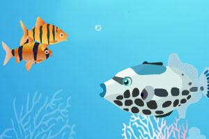 《双人版大鱼吃小鱼2》游戏画面1