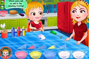 《可爱宝贝学画画》游戏画面3