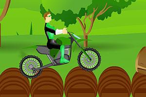 《绿灯侠骑自行车》截图2