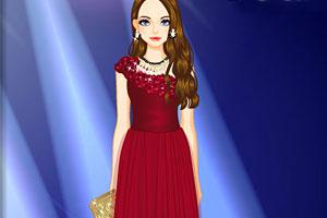 《漂亮的晚礼服》游戏画面1