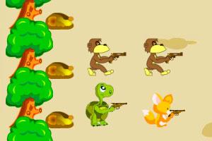 《小动物森林保卫战》游戏画面1