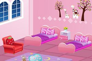 《布置双胞胎的房间》游戏画面1