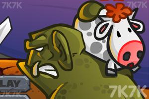 《偷牛贼》游戏画面1