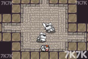 《偷牛贼选关版》游戏画面3