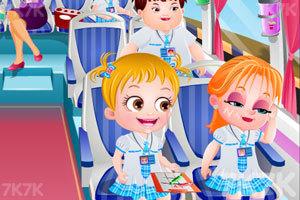 《可爱宝贝去夏令营》游戏画面1