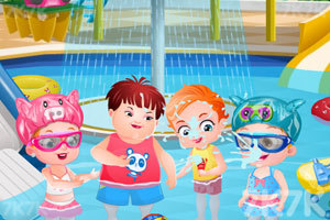 《可爱宝贝去夏令营》游戏画面6