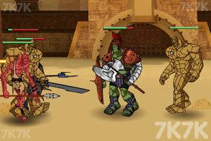 《绿巨人角斗士》游戏画面4