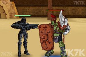 《绿巨人角斗士》游戏画面1