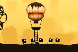 热气球救援