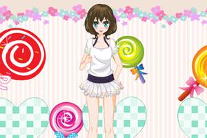 《棒棒糖萌妹子》游戏画面1