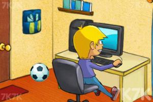 《乖乖寫作業》游戲畫面1