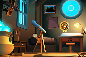 《天文学家逃离》游戏画面1