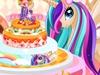 小马公主的蛋糕装饰