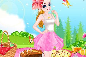 《夏日野餐女孩》游戏画面1