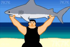 《鲨鱼举重赛》游戏画面3