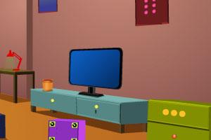 《逃离简单的小屋》游戏画面1
