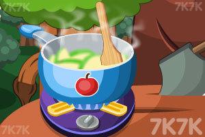 《制作美味的苹果卷》截图2