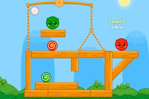 《红色和绿色2H5版》截图1