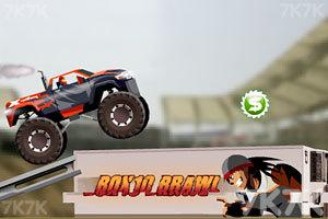 《越野车障碍挑战赛》游戏画面1