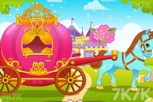 《可爱公主马车》游戏画面3