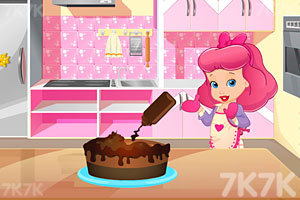 《淘气宝贝的冰淇淋蛋糕》游戏画面2