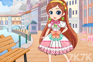 《设计漂亮的漫画裙》游戏画面4