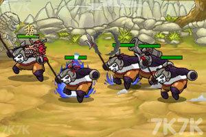 《兔子大战熊猫》游戏画面4