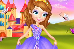《索菲亚的新裙子》游戏画面1