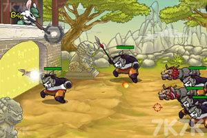 《兔子大战熊猫无敌版》游戏画面5