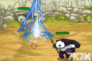 《兔子大战熊猫无敌版》游戏画面4